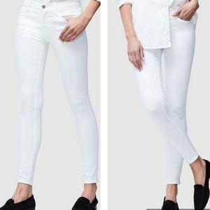 FRAME Slim Fit White Skinny Jeans Size 29 L'Homme